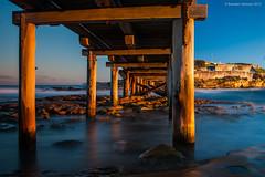 La Parouse, Sydney Australia (BrendanJ711) Tags: ocean longexposure bridge sea seascape beach water landscape rocks waves sony sydney australia structure nsw slowshutter alpha botanybay a390