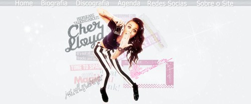 Layout Cher Lloyd - Disponivel