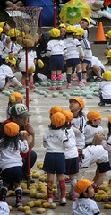 SAKURAKO - Kindergarten Sports Festival. (MIKI Yoshihito. (#mikiyoshihito)) Tags: sports festival japan athletic daughter kindergarten sakurako 運動会 娘 sportsfestival 幼稚園 さくらこ 櫻子 サクラコ 4歳8ヶ月