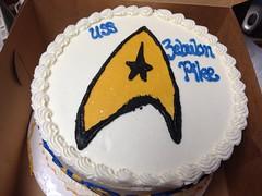 A USS Zebulon Pike cake