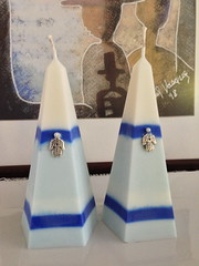 Holiday's candles (DeganitMG) Tags: elegant starofdavid ecofriendly scented giftidea jewishholidays soywax hamsahcharm