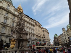 The Plague Column on Graben Street