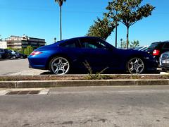 Porsche 997 Carrera 4S (VtorFaria) Tags: blue black grey martin interior s m turbo porsche bmw jaguar z4 m3 expensive rims luxury rare supercar maserati aston carrera roadster 991 xkr panamera whells e92 v8v