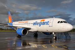 N215NV A320-214  Allegiant Air (n707pm) Tags: ireland airplane airport aircraft airline airbus delivery dub a320 320214 echul dublinaerospace 02082013 cn1292 n215nv dublinaug2013