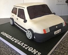 Vauxhall Nova Cake