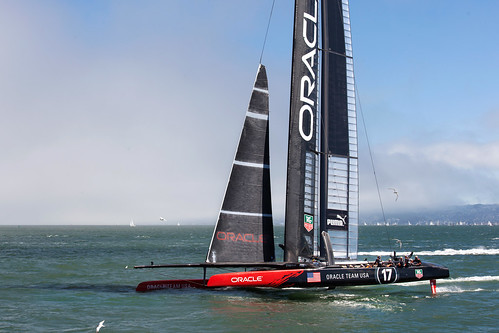 sanfrancisco sanfranciscobay americascup ggyc thedefender goldengateyachtclub ac72 oracleteamusa wingsailedcatamaran 262meters americascup72class sailboathydrofoil