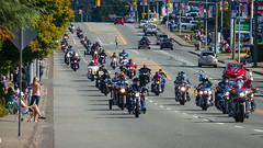 Start of the 2013 Toy Run (ausmc_1) Tags: canada britishcolumbia motorcycles bikes september vancouverisland portalberni d800 toyrun 2013 nikon70~300mm4556vrii