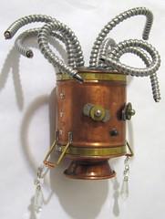 Medusa (Rivethead Robotics) Tags: sculpture art vintage robot junk recycled assemblage retro robots scifi sciencefiction recycle scrap