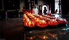 Prayer Candles (Hadi Zaher) Tags: street reflections temple candles buddhist prayer chinese harmony malaysia hoon taoist cheng melaka malacca teng