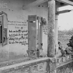 17 Mar 1968, Hue, South Vietnam - US Soldier with grafitti, Hue, S.Vietnam - Image by © Bettmann/CORBIS thumbnail