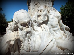 St Peter And The Devil (Rick Ellerman) Tags: italy sculpture holiday rome roma fountain saint statue italian europe european roman euro menacing picasa peter satan devil stpeter villaborghese 2013