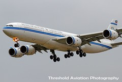 9K-GBA (Threshold Aviation Photography) Tags: chicago airport state ohare international airbus kuwait airways ord kac kord a345 a340500 of 9kgba kac1