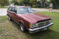 82 Oldsmobile Cutlass Cruiser (DVS1mn) Tags: cars car 1982 gm burgundy cruiser 82 olds oldsmobile stationwagon cutlass