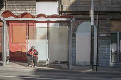 Geary (withayou) Tags: sf sanfrancisco canon eos streetphotography busstop muni stop canon5d 70300mm tenderloin kokos canonmkiii 5dmarkiii