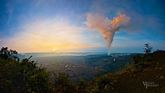 Volcano Sunrise (Valley Imagery) Tags: panorama sunrise hawaii sony panoramic valley stitched imagery 2014 awarded wpo commended volcanosunrise valleyimagery