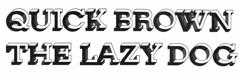 Knirsch specimen detail (Stewf) Tags: 3d font typeface escheresque berthold phototype typespecimen christofgassner