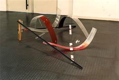 Le froid  180x180x60cm (emmanuelviard75) Tags: mobile nylon bois acier plexy boulons