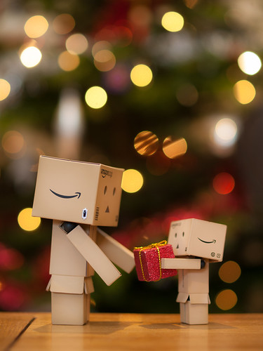 Danbo Gets a Present
