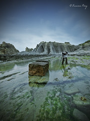 Creadora de magia. (Francisco J. Prez.) Tags: naturaleza nature landscape spain paisaje cielo panoramica playas cantabria sigma1020mm pentaxart pentaxk5 franciscojprez flickrsfinestimages1