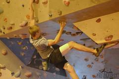 Hanging on (Ariek Photography) Tags: boy vertical photography nikon brighton close upsidedown drawing boulder climbing bouldering hanging odc ariek d3100