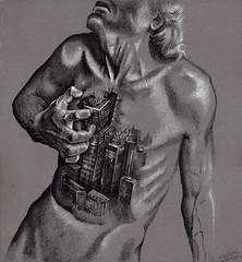 CitySick (Sergei U. Rukavishnikov) Tags: art pencil drawing surrealism {vision}:{outdoor}=0847