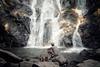 Resting (Nuuttipukki) Tags: thailand grey waterfall wasserfall hiking stones explore chiangmai resting pause 18 wanderung