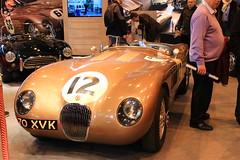 Jaguar Type C ex Fangio '52 (Fido_le_muet) Tags: paris classic cars ex vintage de juan c des collection versailles manuel type porte jaguar parc 52 1952 2014 typec anciennes retromobile fangio ctype expositions