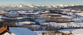 Piemonte - Panoramica colline dell'Astigiano
