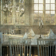 View From the Dining Room (Milla's Place) Tags: windows glass table view chairs stockholm textures diningroom textured millasplace distressedjewell magicunicornmasterpiece kerstinfrankart ramllep