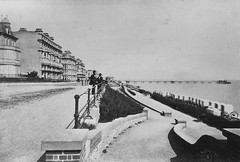 E01347 Grand Parade (East Sussex Libraries Historical Photos) Tags: pier seaside victorian eastbourne leisure bathing seafront 1860s eastsussex 1870s grandparade