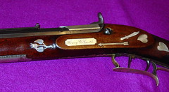 L. G. Ward, Springfield, Illinois - Maker (ilgunmkr - Thanks for 4,000,000+ Views) Tags: silver illinois percussion rifle engraving muzzleloader 1854 springfieldillinois sterlingsilver caplock antiquefirearm lgward germansilvermountings illinoisgunmakers lgwardgunmaker lgwardspringfieldill gaintwistrifling silverinlays wmfairthorneengraver henrygsmith