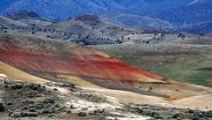 painted hills 1 (Viaggiatrice71) Tags: usa oregon hills paitendhills