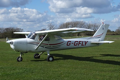 Reims Cessna F.150L G-GFLY (Old Buck Shots) Tags: egsv ks keith sowter