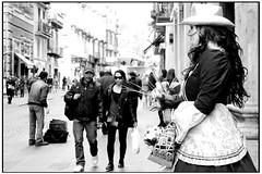 Professione mima (gennaromignolo) Tags: italy italia streetperformers mimo na naples viaroma lavoro galleriaumberto professioni