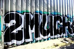 2MUCH (SPEAR1X) Tags: ca street wall graffiti losangeles graf socal spraypaint 2much