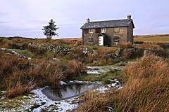 Frozen In Time: Nun's Cross Farm, Dartmoor, Devon, UK (EmPhoto.) Tags: old uk winter snow ice farmhouse canon landscape eos frozen devon moor dartmoor 1022mm 70d southwestengland shottodeath nunscrossfarm