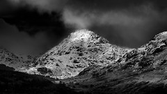 Beinn Dubh (Ben Vane) (Dylan Nardini) Tags: winter light sun snow mountains water clouds landscape ray hills highlight lochlomond westhighlands 2015 lochard arrocharalps locharklet lochchon