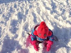 The Rabbit (Peter Szabo(PeSaboterz)) Tags: street winter portrait white snow photography schweiz switzerland kid child swiss streetphotography bern gurten peterszabo pesaboterz