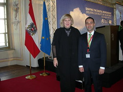 Dr. Artak Barseghyan with Dunja Mijatovic - The OSCE Representative on Freedom of the Media. (Artak Barseghyan) Tags: freedom media with dr osce dunja representative the mijatovic artak barseghyan artakbarseghyan artakbarseghyancom wwwartakbarseghyancom