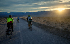 #teamdreamsunsetchasingteam (irwincine) Tags: park camping bike bicycle cycling echo adventure deathvalley touring posse select titus tituscanyon epbp goldensaddlecyclery outsideisfree teamdreambicyclingteam