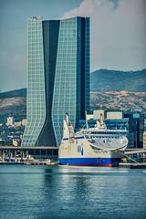 La tour (aups83) Tags: mer building port marseille fort provence cgm vieuxport musem cma d90 sncm méditérranée nikond90 mp2013