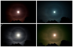 Moon Halo / Corona - London 02/02/2015 22.00