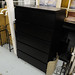 4+2 black veneer drawers