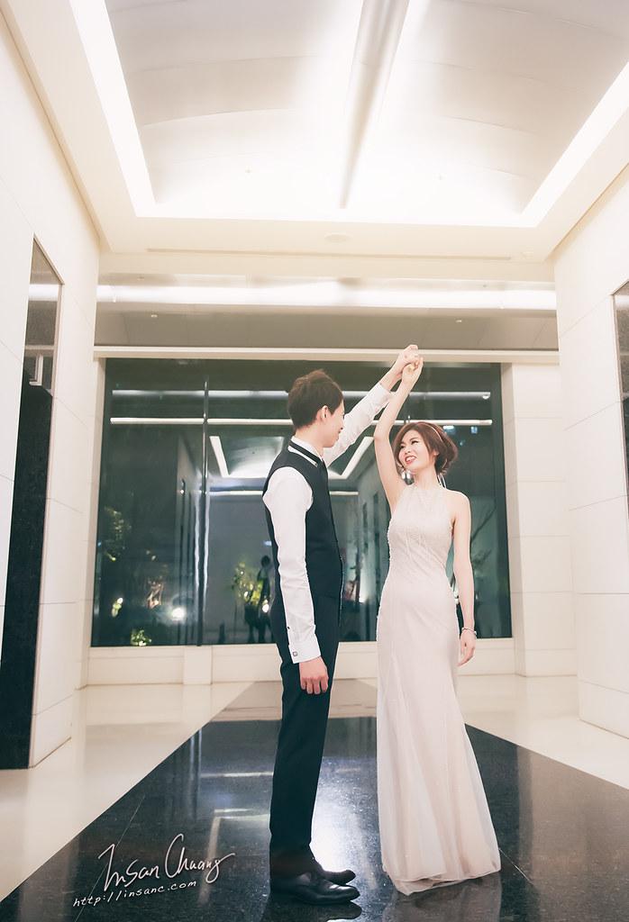 [婚禮記錄]Ivan+Ann // 訂結@ {晶宴民生.點劇場 }