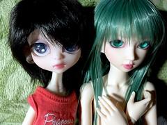 Friends (Bazangi) Tags: doll elf lemur bjd soony fairyland abjd neferkane