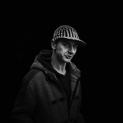 013-365-2015 (dagomir.oniwenko1) Tags: life street uk portrait england people urban blackandwhite bw man male men monochrome face blackbackground portraits canon person mono eyes flickr expression candid sigma style lincolnshire lincoln portret squre lincs canoneos7d edis08edis08 sigmadc1750
