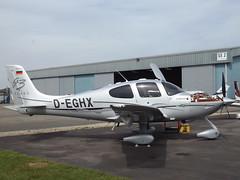 D-EGHX Cirrus GTS3 Turbo (Aircaft @ Gloucestershire Airport By James) Tags: james airport gloucestershire turbo lloyds cirrus egbj gts3 deghx