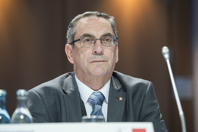 Joe Mizzi at the Closed Ministerial Session
