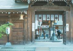 , Kushida Shrine (Hin Ho) Tags: japan architecture landscape shrine fukuoka a7ii kushida