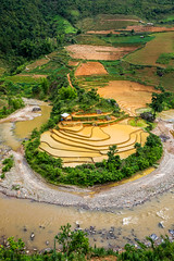 Horseshoe Bend (furbs01 Thanks for 3,600,000 + views) Tags: mountains rice vietnam wate horseshoebend